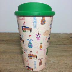 Gromit Unleashed 2 Pattern Re-Usable Cup
