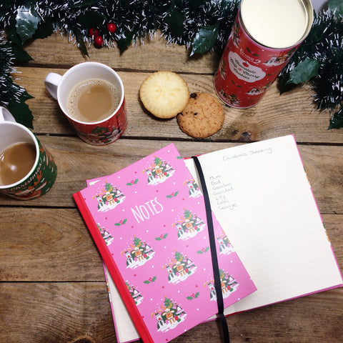 Christmas Hardback Notebook