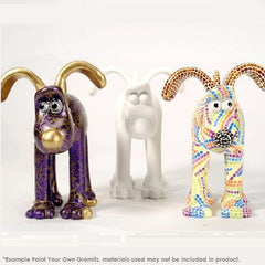 Paint Your Own Gromit Figurine
