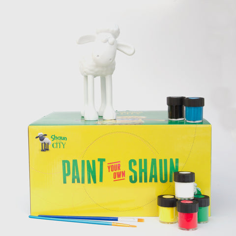 Paint Your Own Shaun Figurine