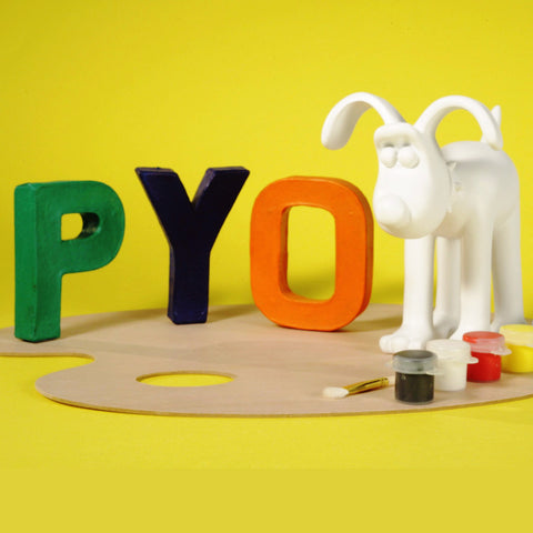 Collectors Only Paint Your Own Gromit Figurine