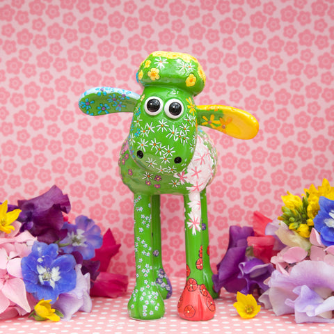 Petal Shaun the Sheep Figurine