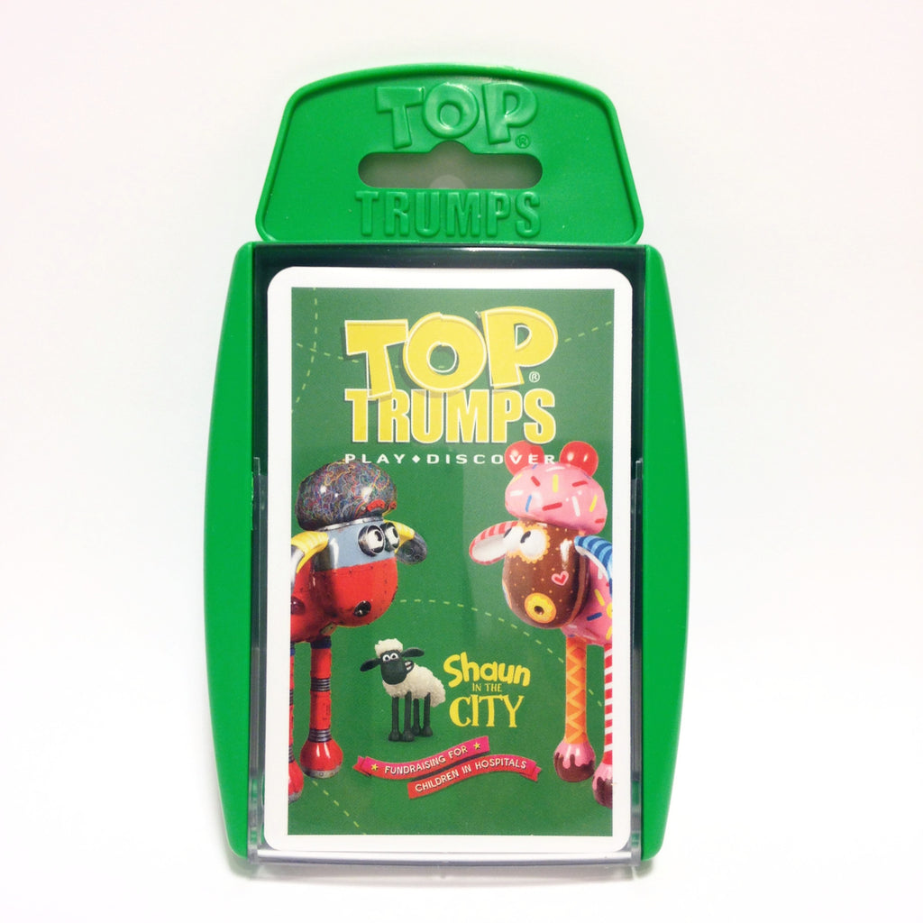Shaun in the City Top Trumps
