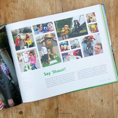 Shaun in the City souvenir book