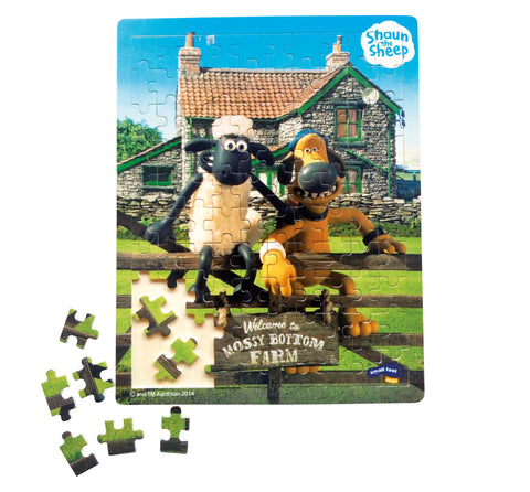 Shaun the Sheep 'Down on the Farm' Jigsaw Puzzle