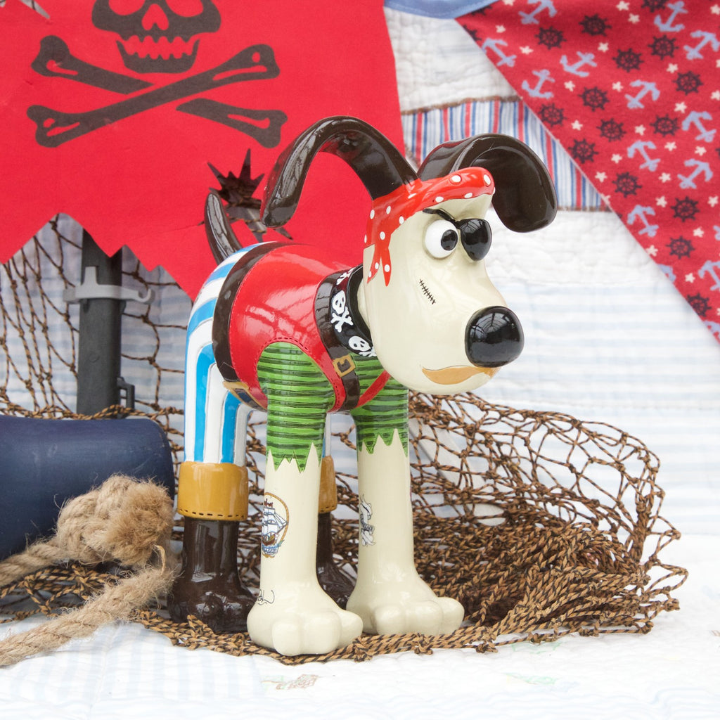 Salty Sea Dog Gromit Figurine