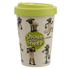 Shaun the Sheep Reusable Bamboo Travel Mug