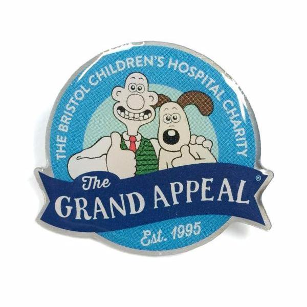The Grand Appeal Charity Pin Badge