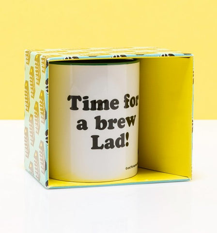 'Time For A Brew Lad!' Gromit Mug