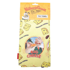 Wallace & Gromit Cheese Tea Towel