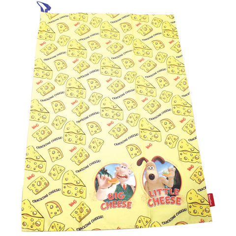 Wallace & Gromit Cheese T-towel