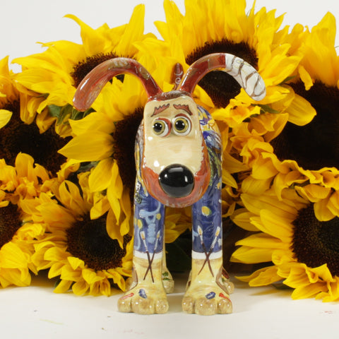 Vincent van Gromit figurine
