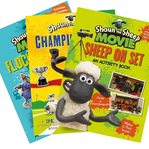 Shaun the Sheep Activity and Sticker Books