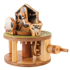 Flock Roundabout Wooden Kit