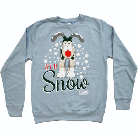 The Snow Gromit Christmas Jumper