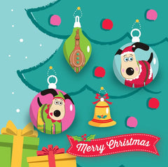 Gromit Unleashed Christmas Card pack