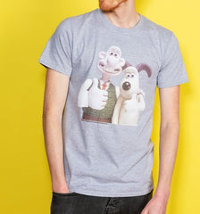 Wallace & Gromit Classic Photograph T-shirt Men's