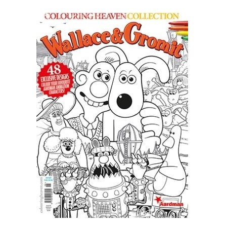 Wallace and Gromit Collection Colouring Book
