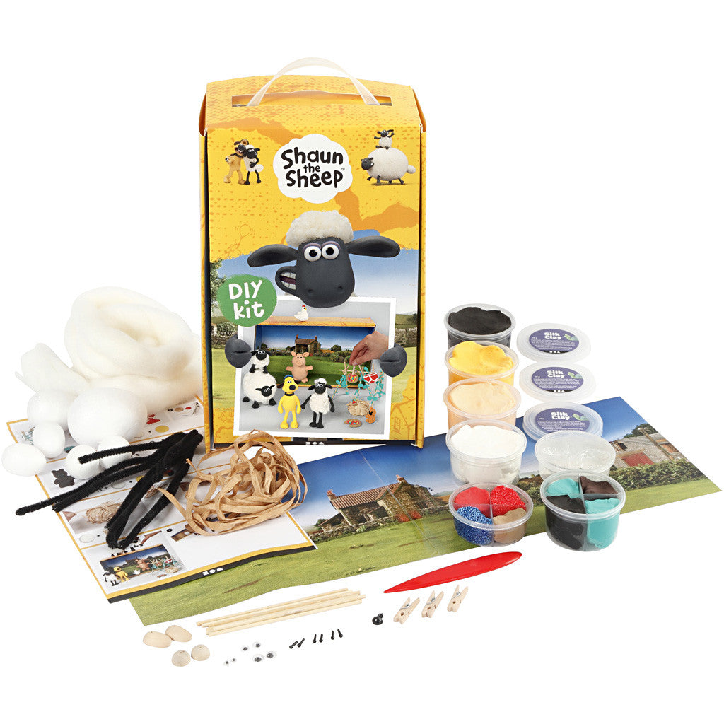 Shaun The Sheep Mossy Bottom Farm Modelling Set