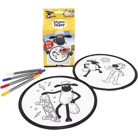 Shaun The Sheep DIY Frisbee Craft Kit
