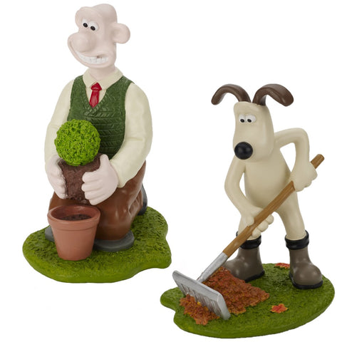 Wallace & Gromit Gardening Ornament
