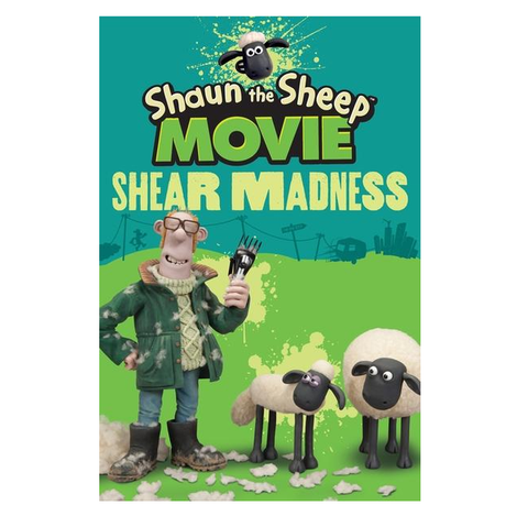 Shaun the sheep: Shear Madness Book