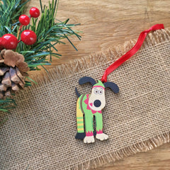 Gromit Unleashed hanging Christmas tree decorations