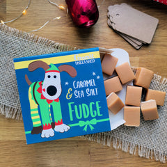 Jingles Caramel & Sea Salt Fudge Sweet Box