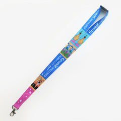 Colourful Gromit Lanyard