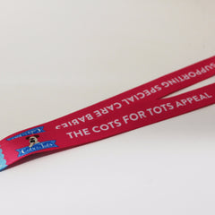 Cots for Tots Lanyard