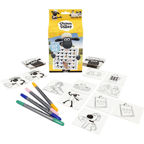 Shaun The Sheep DIY Memory Game Craft Kit