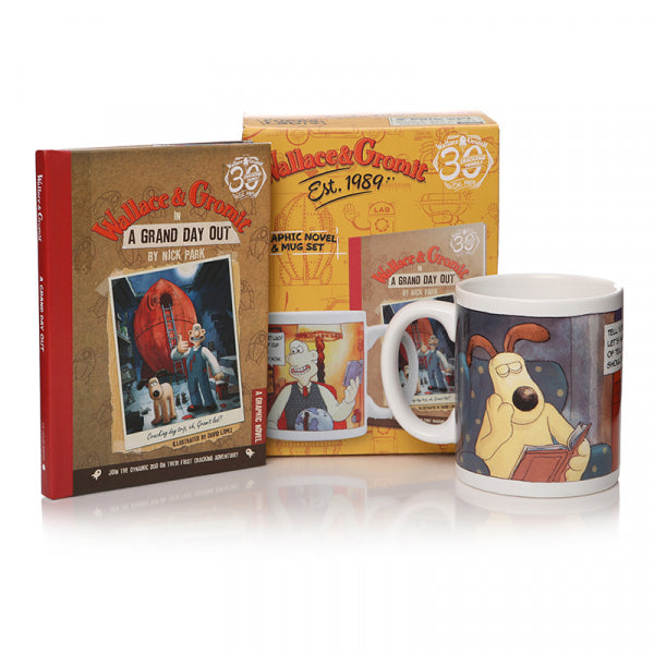 Wallace & Gromit A Grand Day Out Gift Set