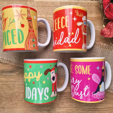 Gromit Unleashed Christmas Mugs