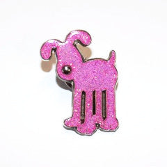 Gromit Unleashed Pink Glitter Pin