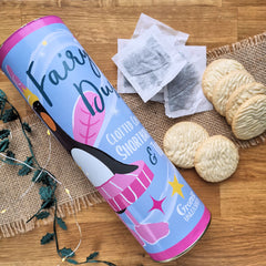 Prima Featherina Clotted Cream Shortbread & Tea Gift Set