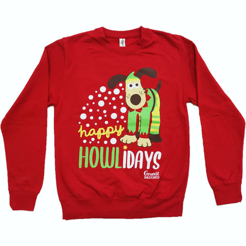 Happy Howlidays Christmas Jumper