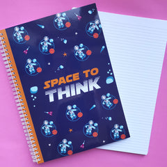 Rocket Man A4 ringbound notebook
