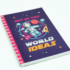 Rocket Man A5 ringbound notebook