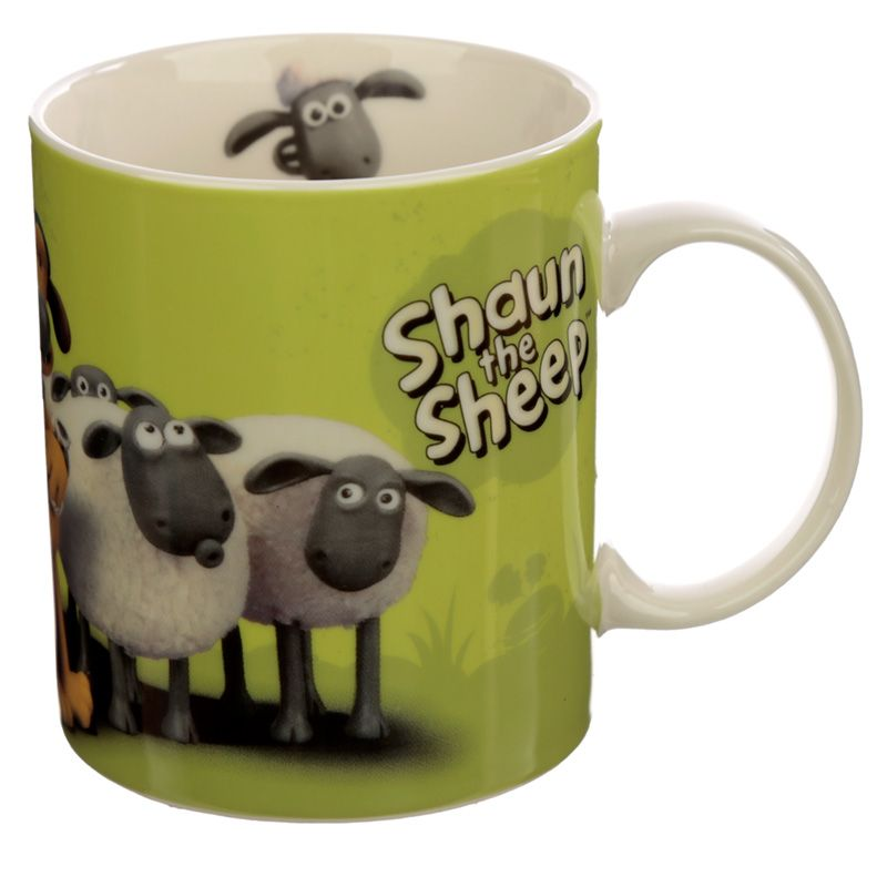 Shaun the Sheep Green Mug