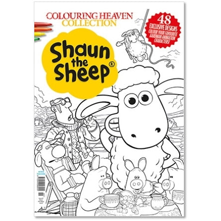 Shaun the Sheep Collection Colouring Book