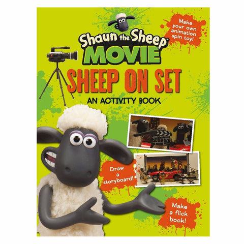 Shaun the Sheep Activity Book: Sheep on Set