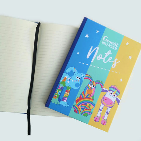 Colourful Gromit Hardback Notebook
