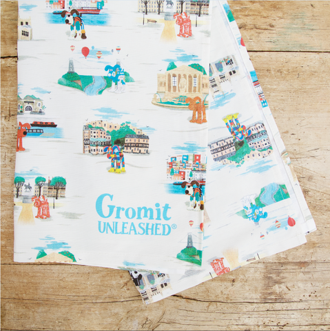 Gromit Unleashed: The Bristol Collection Tea Towel