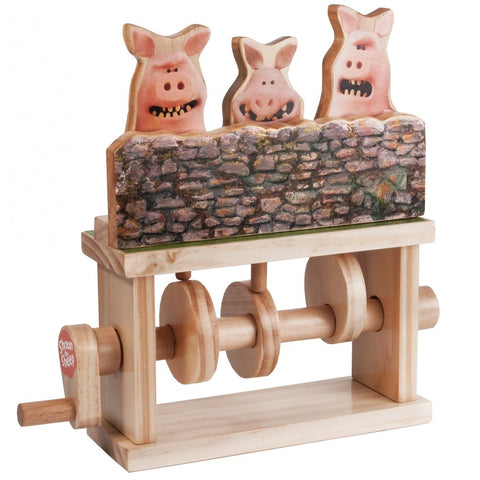Three Pigs Wooden Kit
