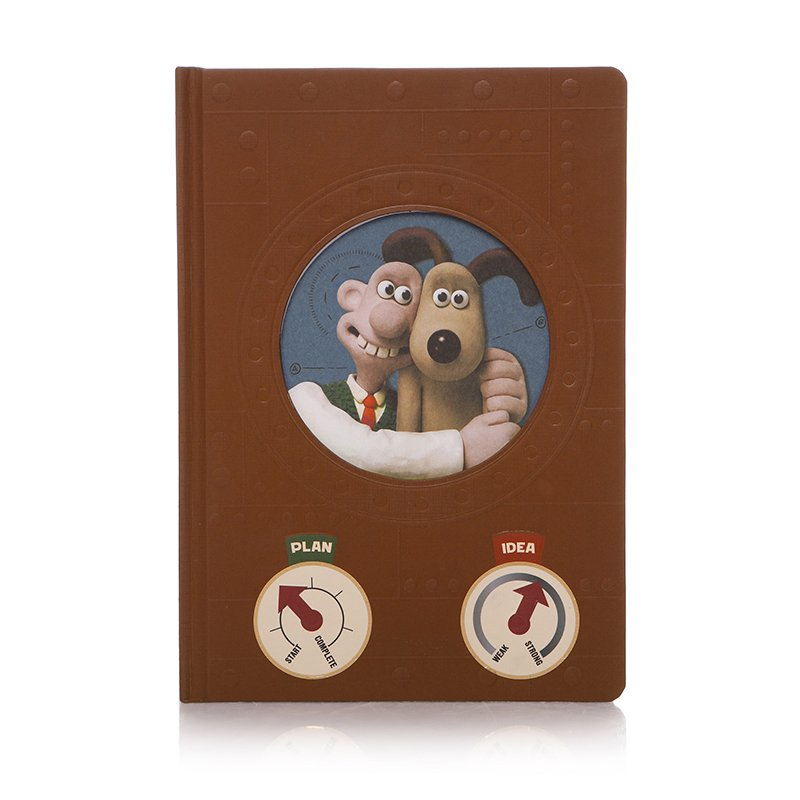 Wallace & Gromit A5 Inventors Notebook