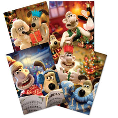 Wallace & Gromit Christmas Card Pack