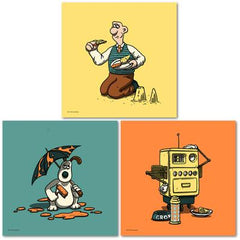 Wallace & Gromit Mini Prints - Series 1