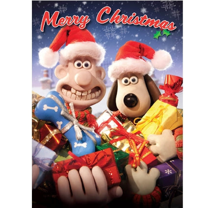 Wallace and Gromit Talking Christmas Card