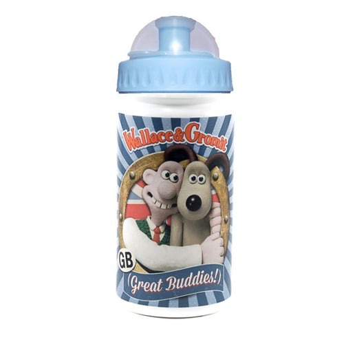 Official Wallace And Gromit Feathers McGraw Metal Water Bottle
