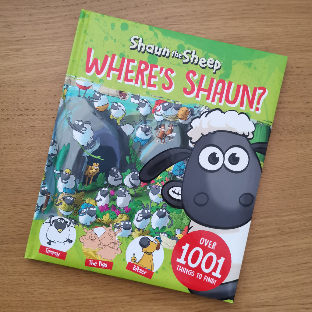 Where's Shaun? search and find Book